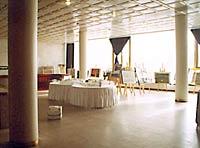 Гостиница Санкт-Петербург. Выставочный зал.